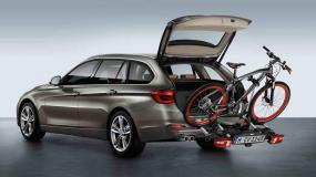 Fahrrad – Heckträger Aktion bei BMW Oberhauser